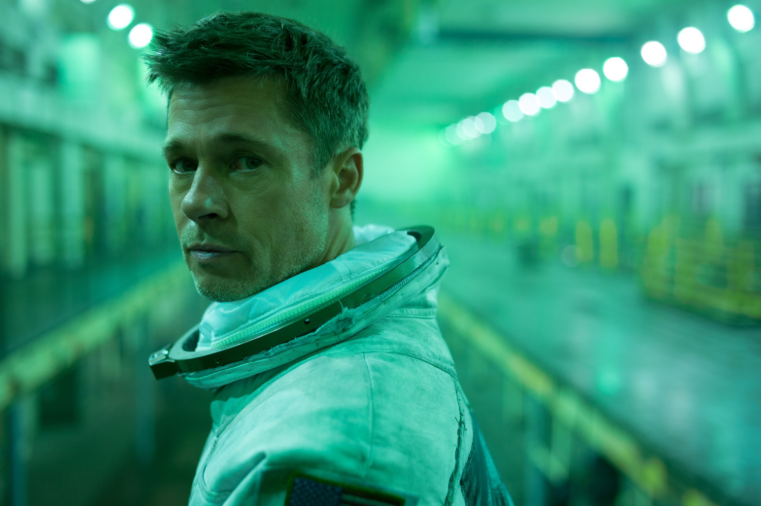"""Brad Pitt stars as Roy McBride in """"Ad Astra"""" (2019), directed by James Gray."""