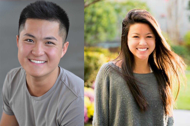 Eric J. Cheng '20 and Angelina Ye '20