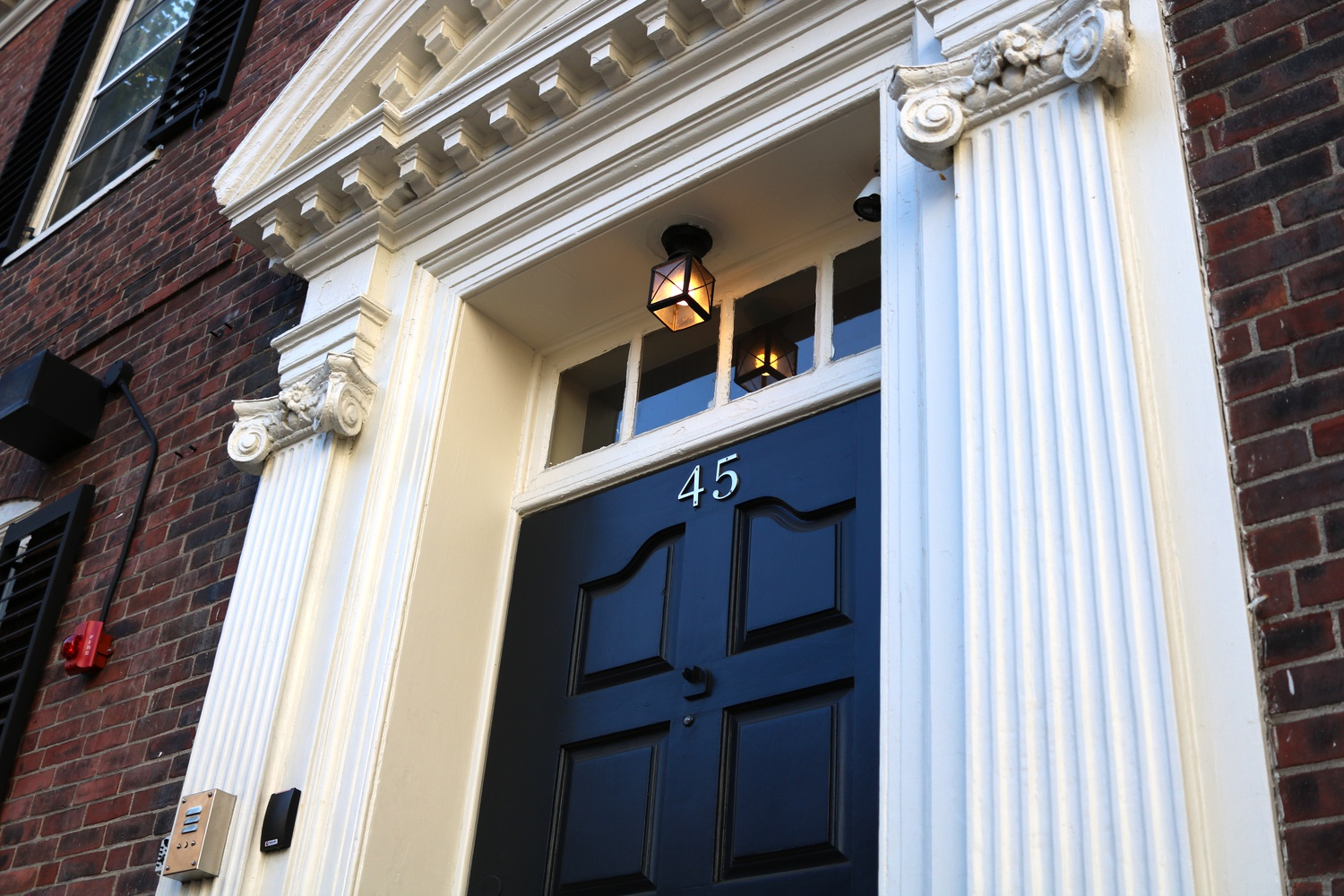 The Hasty Pudding's clubhouse, located in Harvard Square across from The Garage.