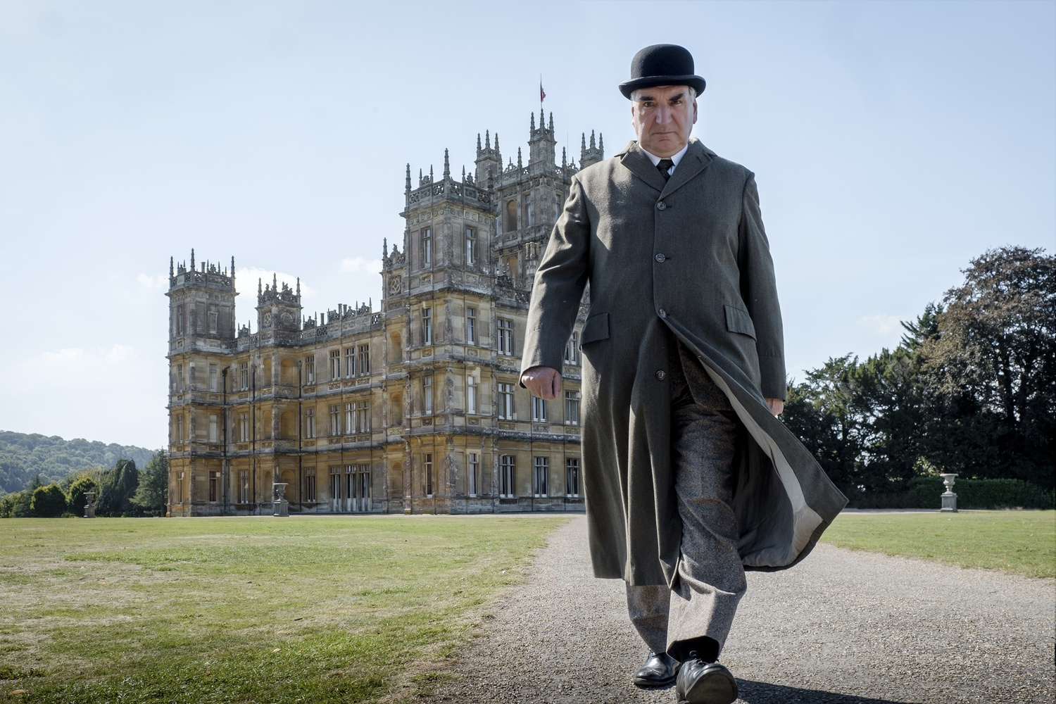 """Jim Carter stars as Mr. Carson in """"Downton Abbey"""" (2019), directed by Michael Engler and written by Julian Fellowes."""