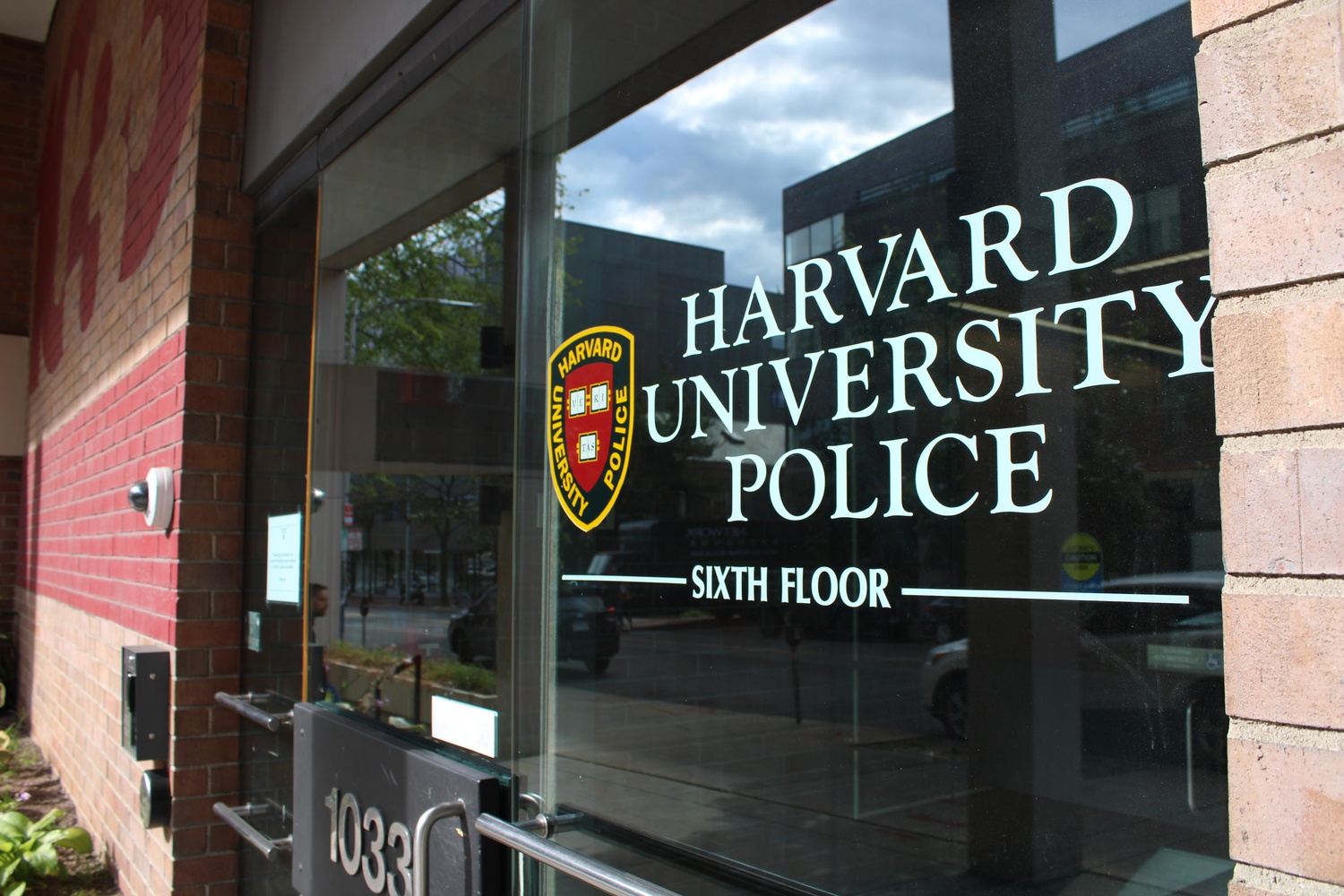 The Harvard University Police Department maintains offices on Massachusetts Avenue.