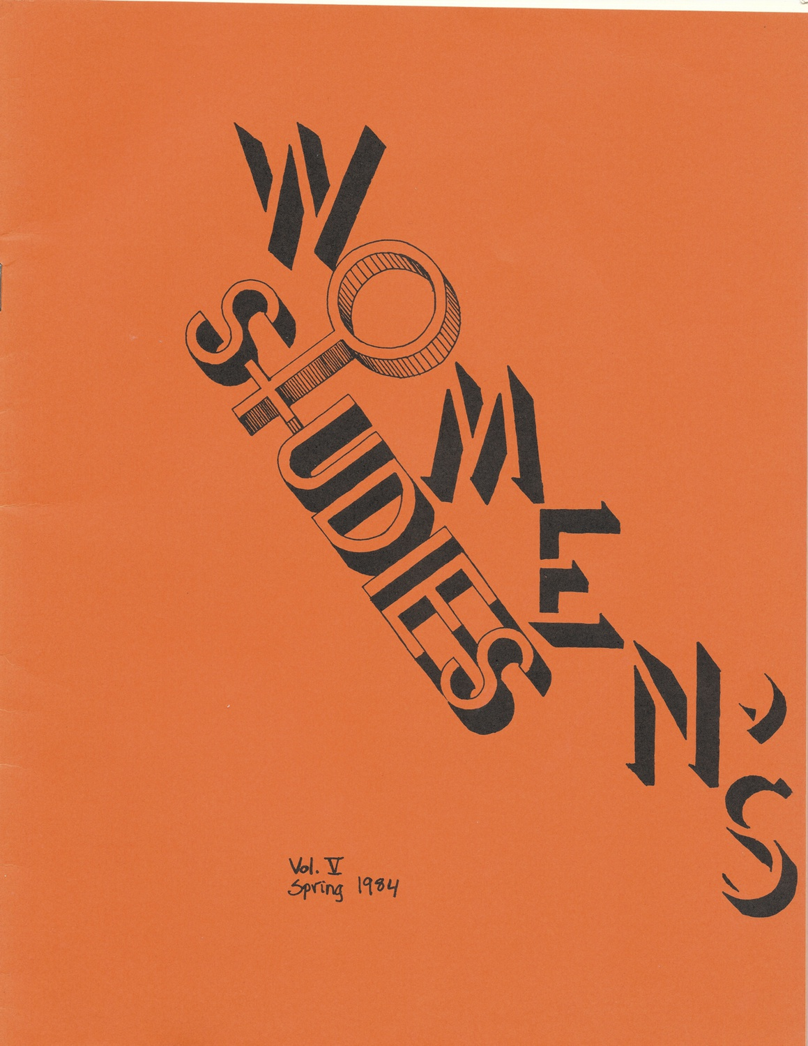 Course catalogues, created by the Radcliffe Union of Students in the early 1980s, were part of their advocacy for more women's studies offerings.
