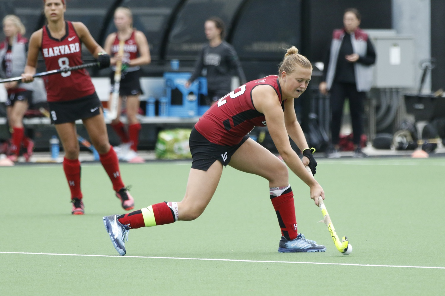 Junior forward Mimi Tarrant scored the game-winning goal in this weekend's match against UPenn.