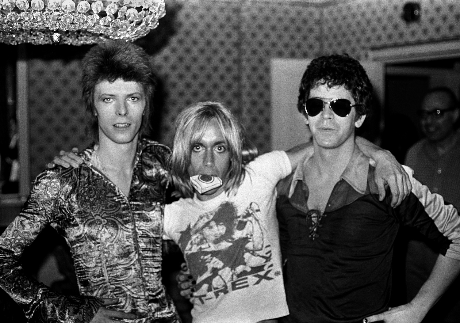 Longstanding rock photographer Mick Rock has shot artists including Lou Reed and David Bowie.