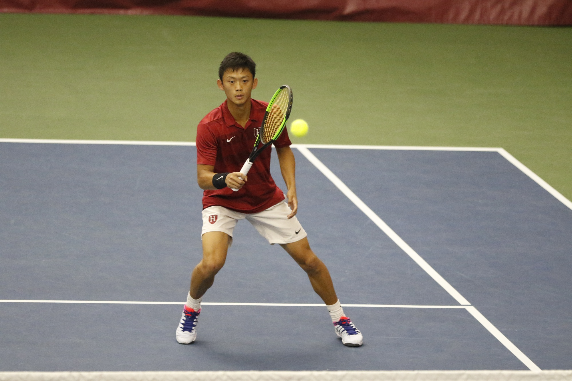 Since the tennis season really gets into high gear in the spring, the Crimson treats the fall as a chance to perfect its play.