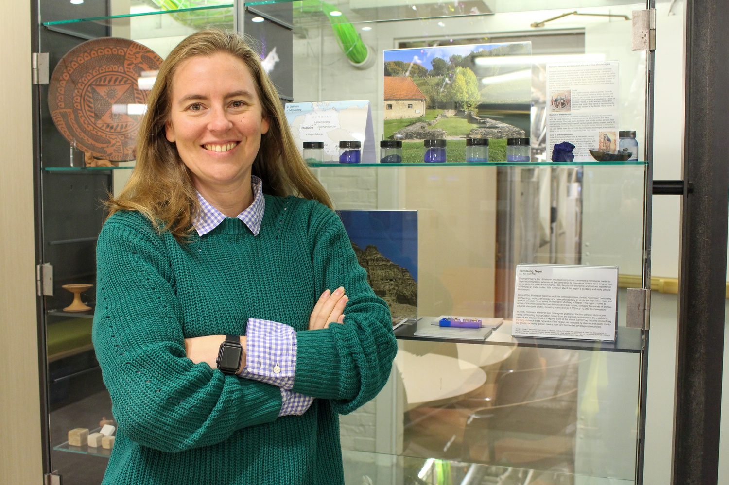 Christina Warriner, an assistant professor of anthropology at Harvard College, researches in biomolecular archaeology with an emphasis on the evolution of the microbiome.