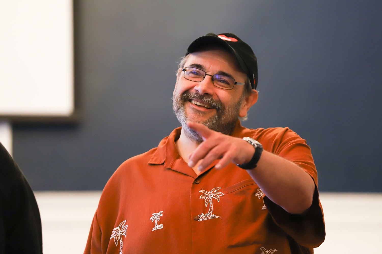 Harvard Theater, Dance, and Media lecturer Remo F. Airaldi '85 has appeared in more than sixty productions at the American Repertory Theatre since 1993.