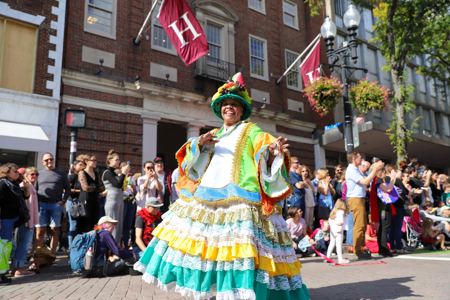 On the festival's third day, local community groups, artists, and activists promoting a variety of social causes join the brass bands in a vibrant parade from Davis Square to Harvard Square, converging with the Harvard Square Oktoberfest.