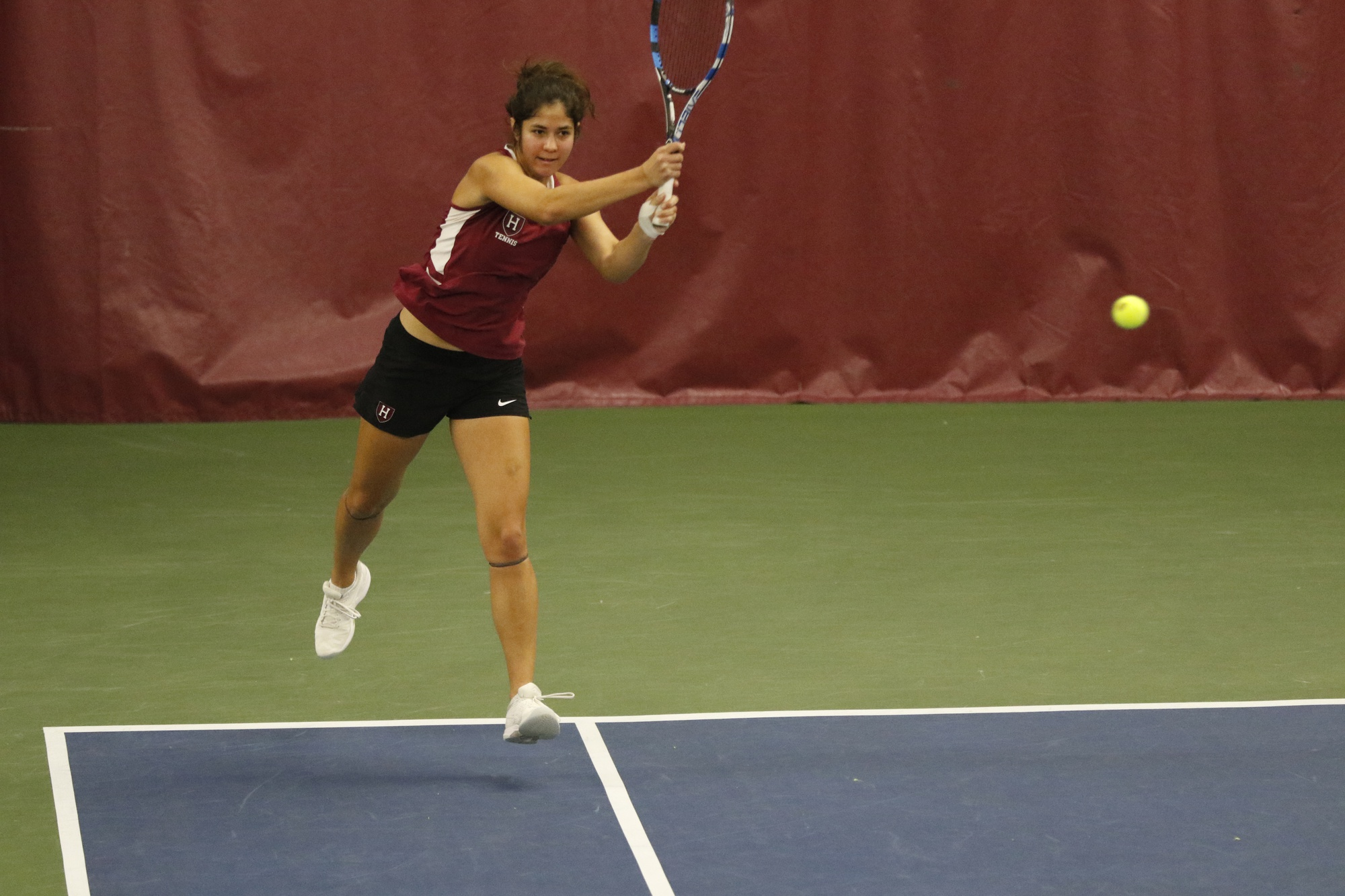 Senior captain Natasha Gonzalez competed in doubles over the weekend with sophomore Rachel Lim in an impressive showing.