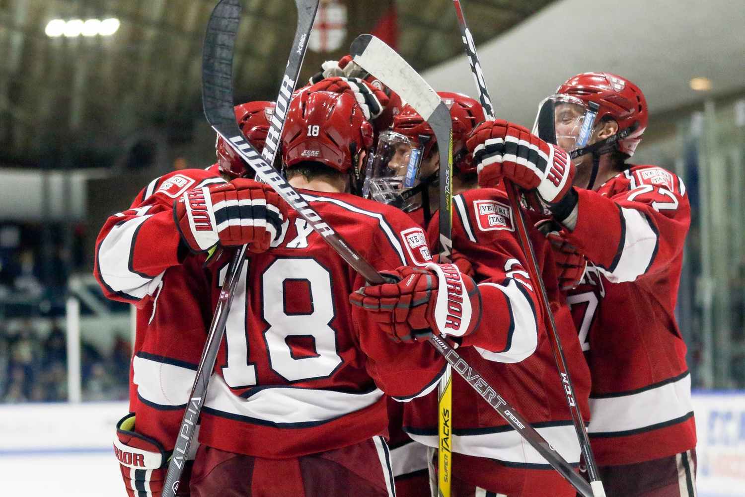 Harvard's first powerplay was consistently one of the most lethal units in college hockey last year.