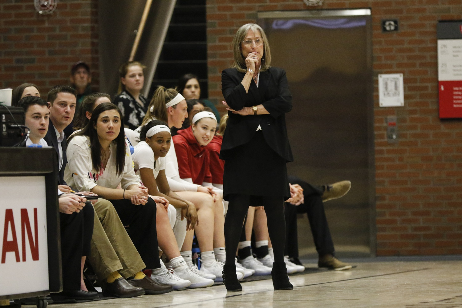 Coach Kathy Delaney-Smith will lead the Crimson for her 38th season.