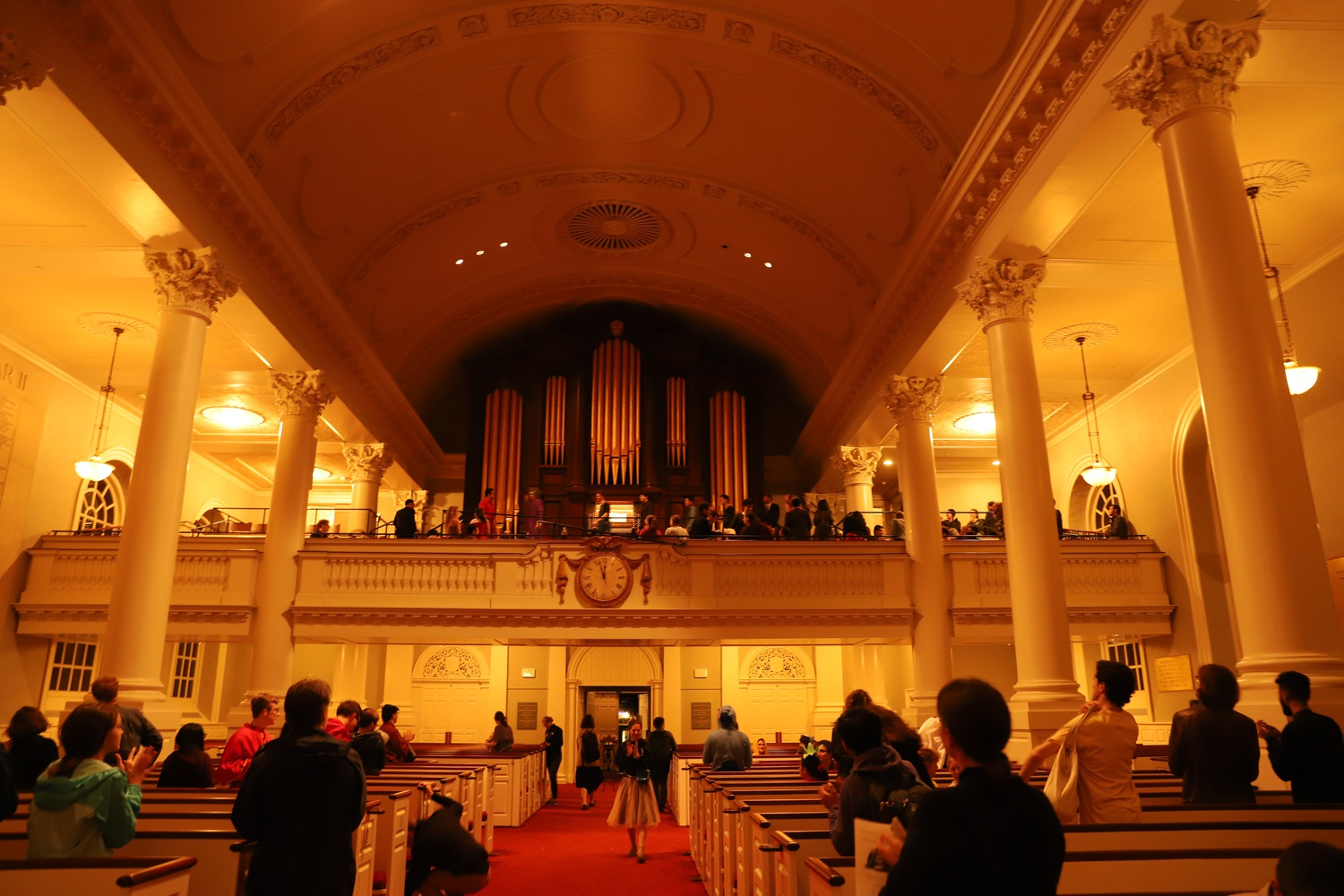 On the night of Oct. 31, the First-Year Experience Office, Memorial Church, and the Harvard Organ Society hosted their annual Halloween Organ Recital. At 11pm, the sanctuary went silent with a single chord.