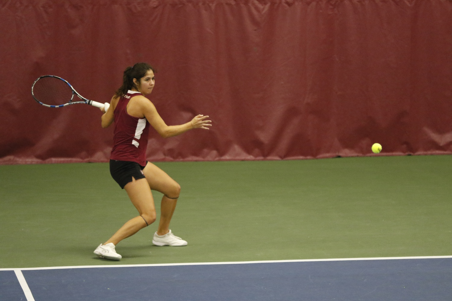 The Crimson won 15 of its 20 singles matches and nine of its 13 doubles matches en route to five flight victories at the Harvard Invitational