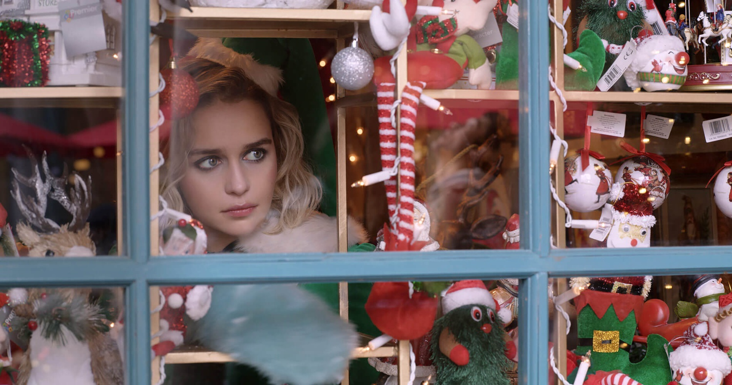 """Emilia Clarke stars as Kate in """"Last Christmas"""" (2019), directed by Paul Feig."""