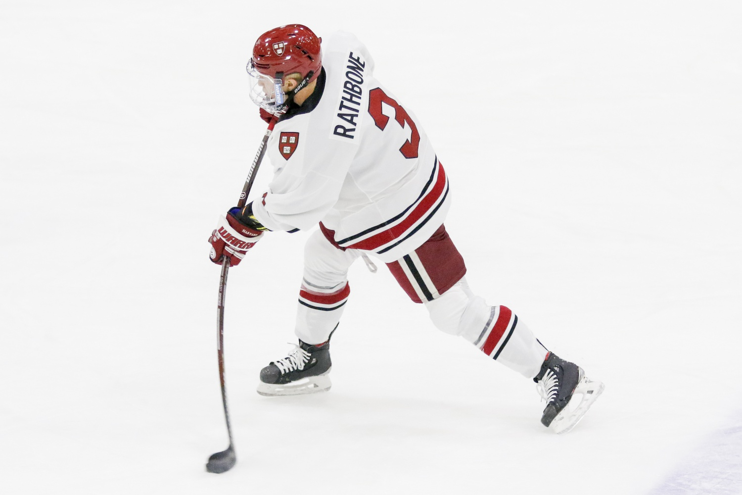 The Crimson's young defensive corps is led by sophomore Jack Rathbone and junior Reilly Walsh, both offensive-minded blue-liners who are also key pieces of the power play.