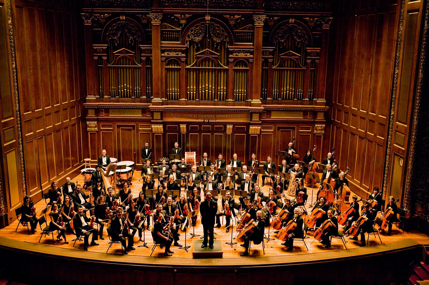 The Longwood Symphony Orchestra is an orchestra comprised of medical professionals.