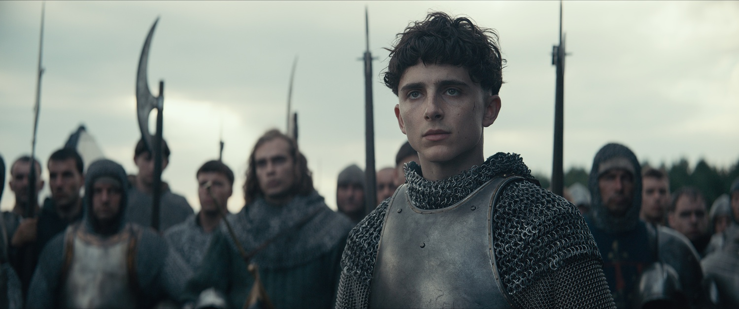 """Timothée Chalamet stars as Prince Hal in """"The King"""" (2019), directed by David Michod."""