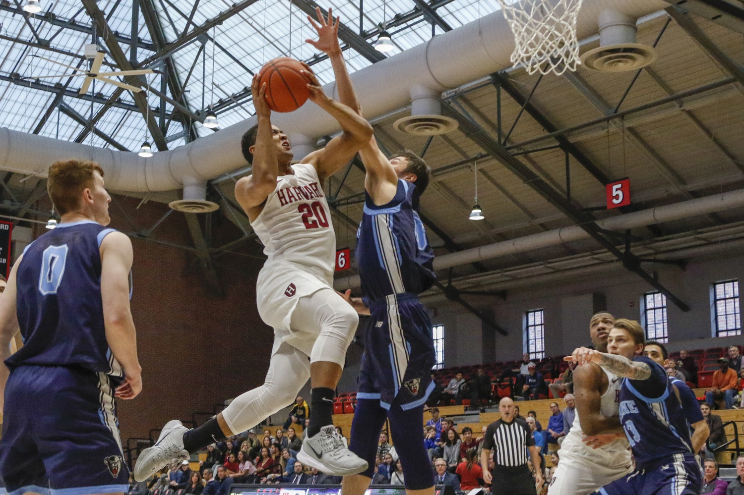 With the bevy of injuries facing the Crimson early in the season, senior Justin Bassey has assumed a more significant role on offense.