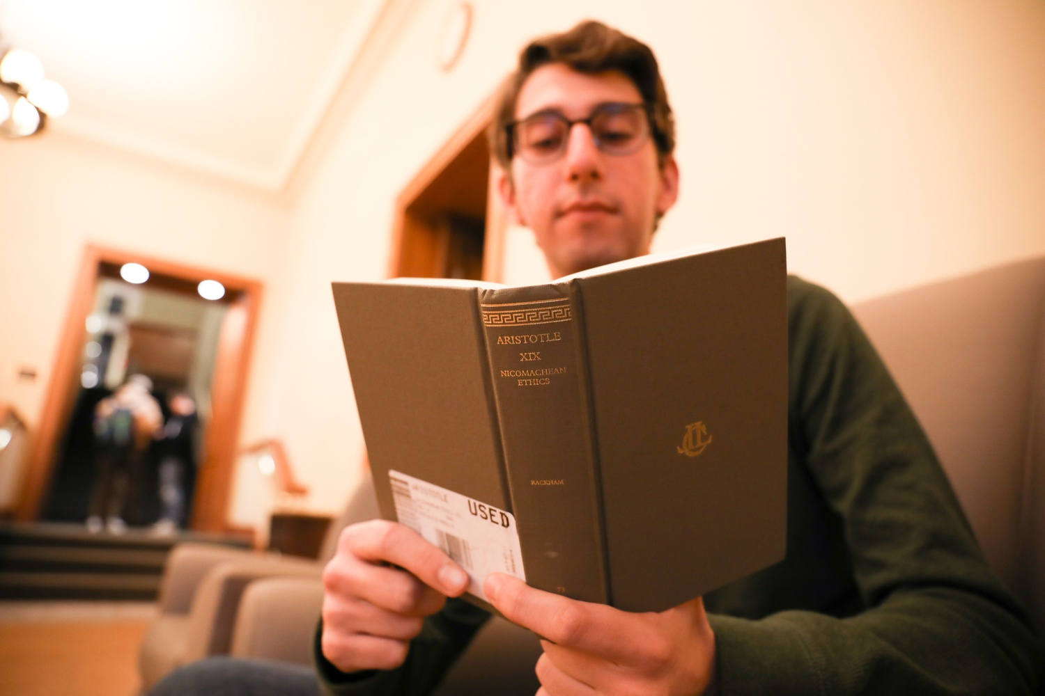 Aristotle M. Vainikos '23, named after his grandfather Aristotelis, explores the experiences of students who share the same name as famous figures.