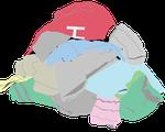 Clothes Pile Graphic