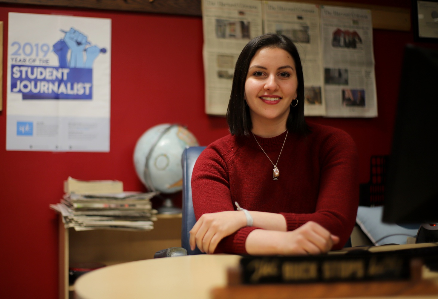 Shera S. Avi-Yonah '21  has been named the Managing Editor of the 147th Guard of The Harvard Crimson.