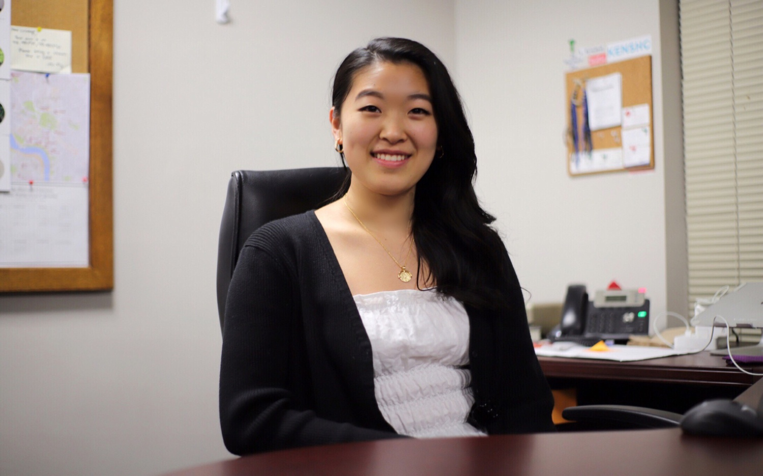 Emily M. Lu '21 has been named the Business Manager of the 147th Guard of The Harvard Crimson.