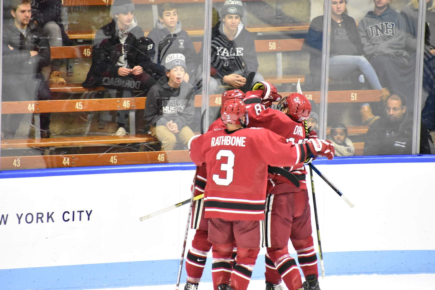 After several high-scoring contests, the Crimson leads the country in goals per game played (5.40) this year.