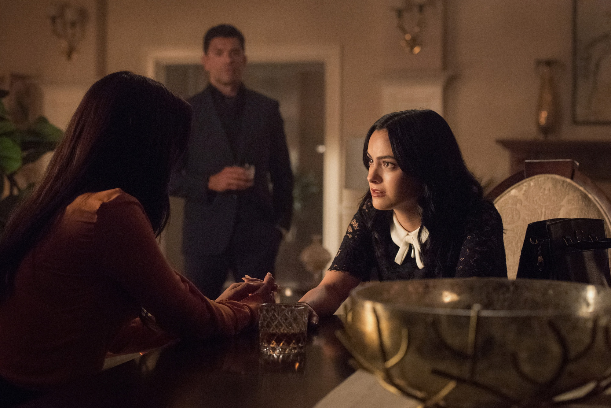 Camila Mendes as Veronica Lodge in 'Hereditary.'