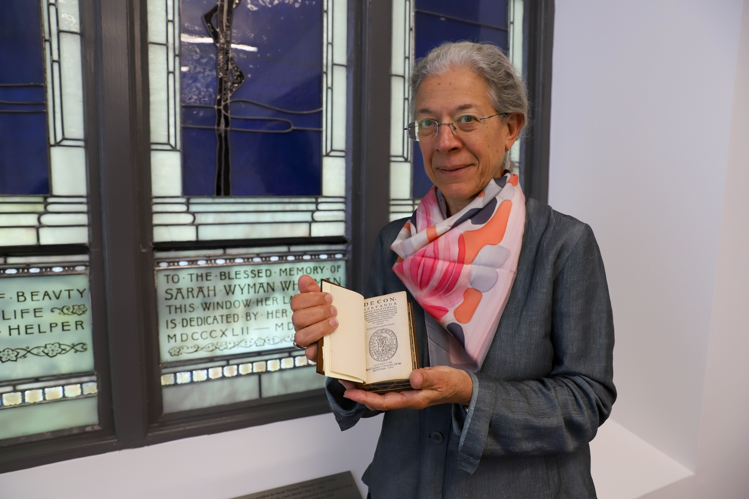 Marlyène Altieri is the curator of Books and Printed Materials at The Schlesigner Library on the History of Women in America, including its culinary collection, which makes up about 20 percent of the library's volumes.