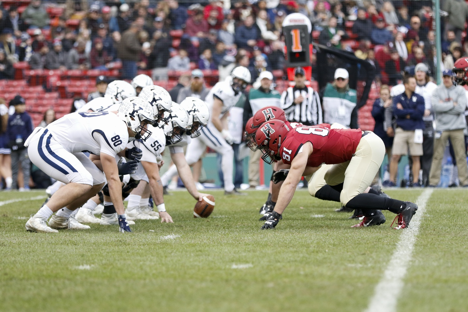 Football Looks To Play Spoiler In 136th Rendition Of The