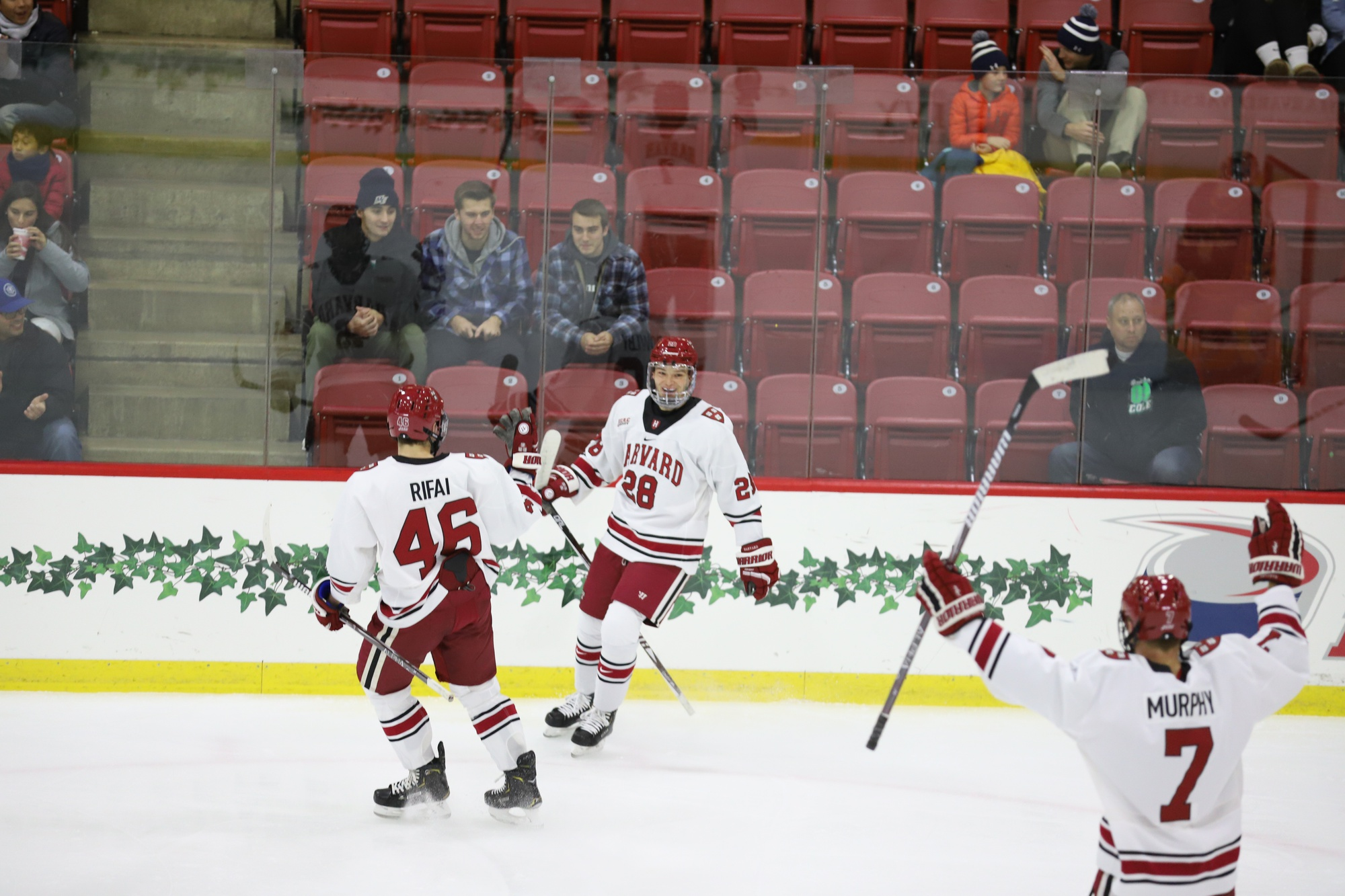 Though the Crimson has had goal-scorers up and down the lineup, regular contributors like junior Henry Bowlby, who is on a five-game point streak, bolster the team's offensive power.