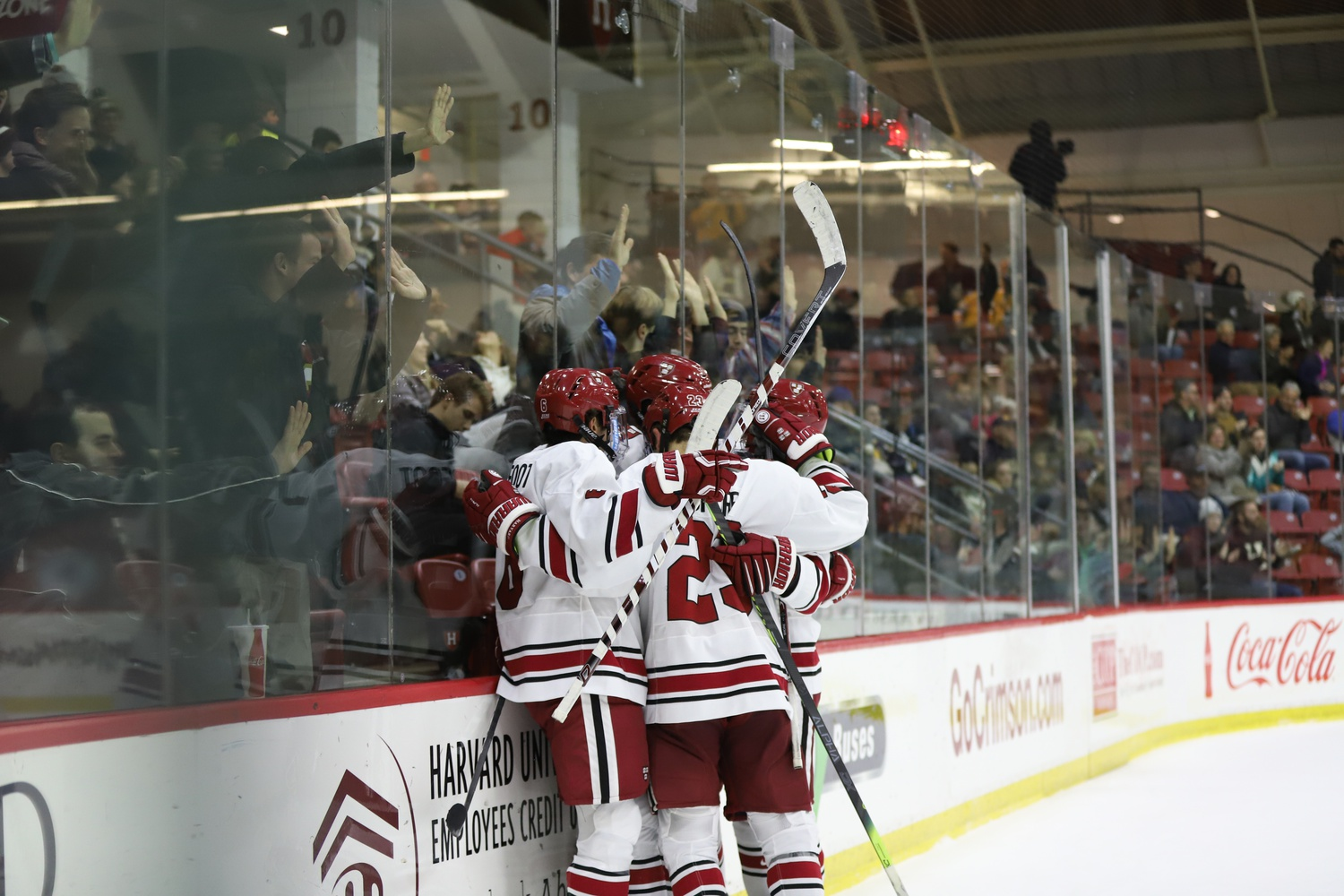 Harvard's sixth straight win makes it the ECAC leader, and one of two unbeaten teams in the country.