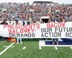 Divest Protest Sign