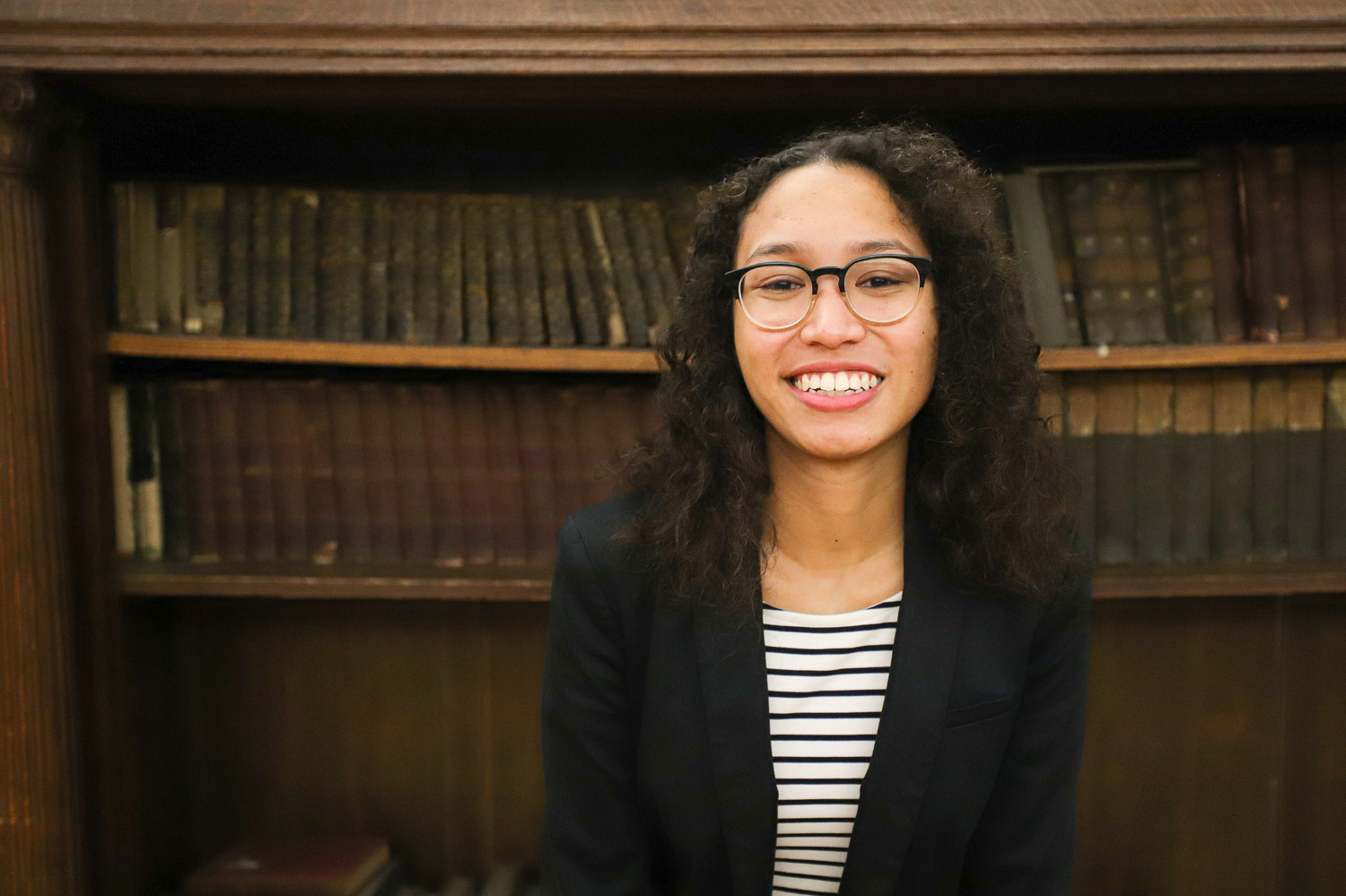 Crimson President Kristine E. Guillaume '20 was one of five Harvard seniors selected as an American Rhodes Scholar on Saturday.