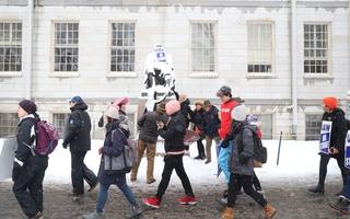 John Harvard Union Strike