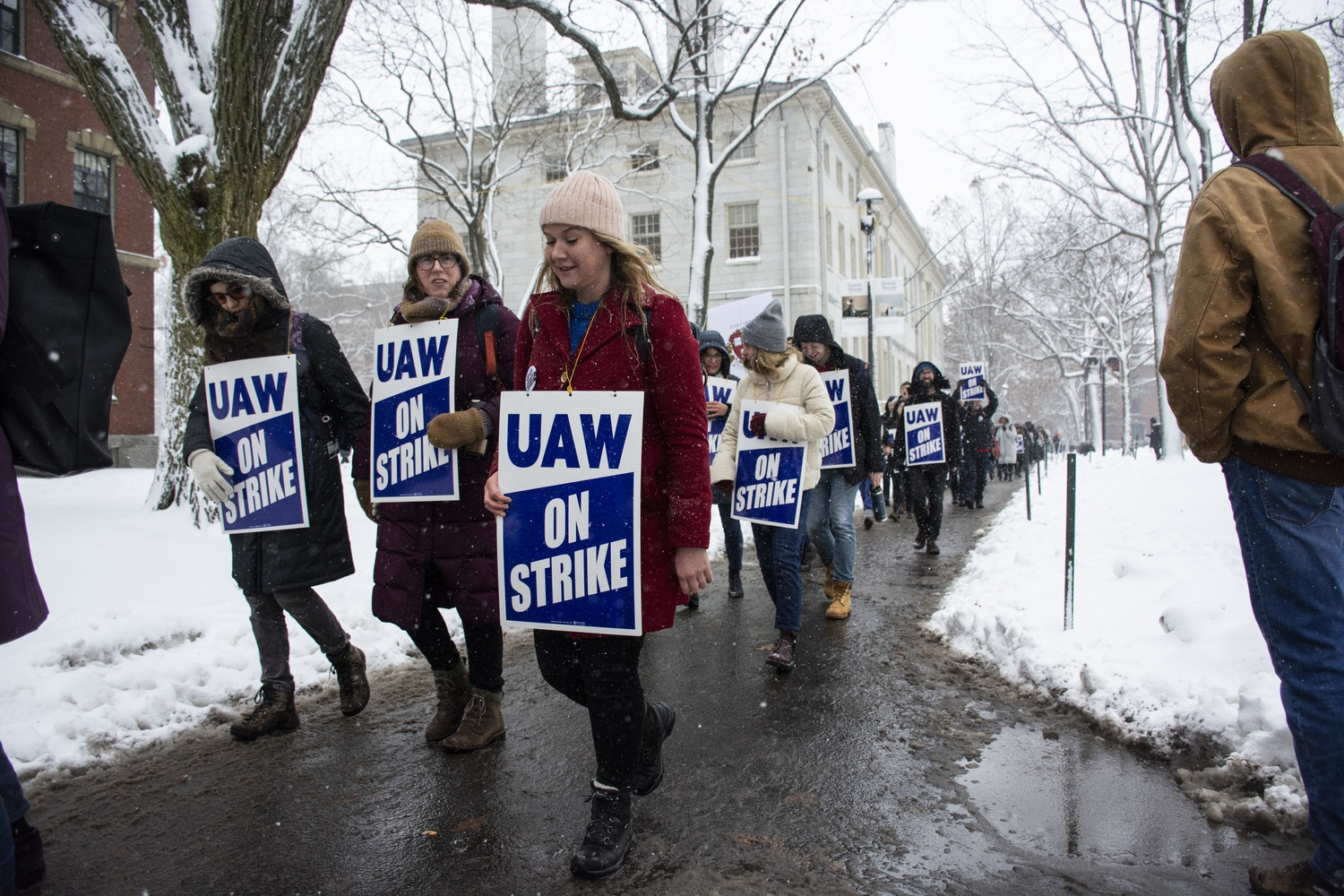 HGSU-UAW previously went on strike for nearly four weeks in December 2019.