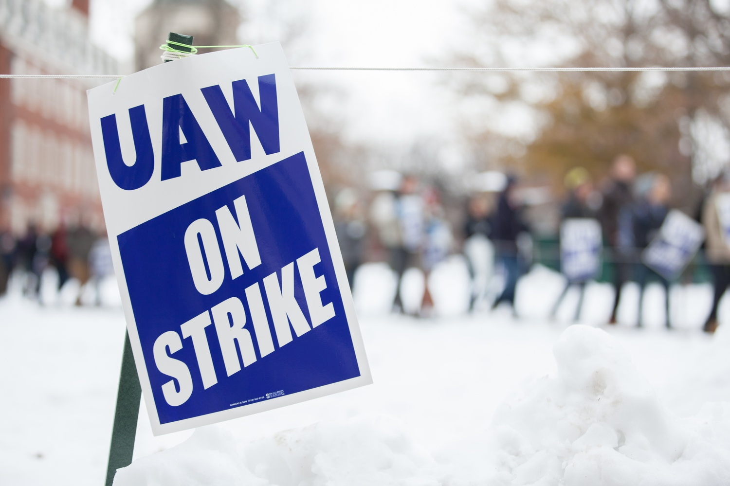 Harvard Graduate Students Union-United Automobile Workers went on strike last year beginning Dec 3.