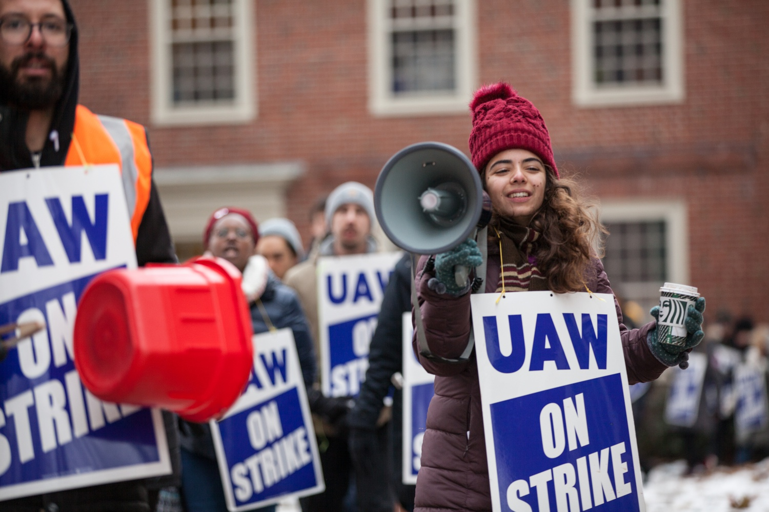 In December 2019, HGSU-UAW went on strike for four weeks in a bid to secure its first contract, ultimately moving to mediation and ratifying a one-year contract in July 2020.