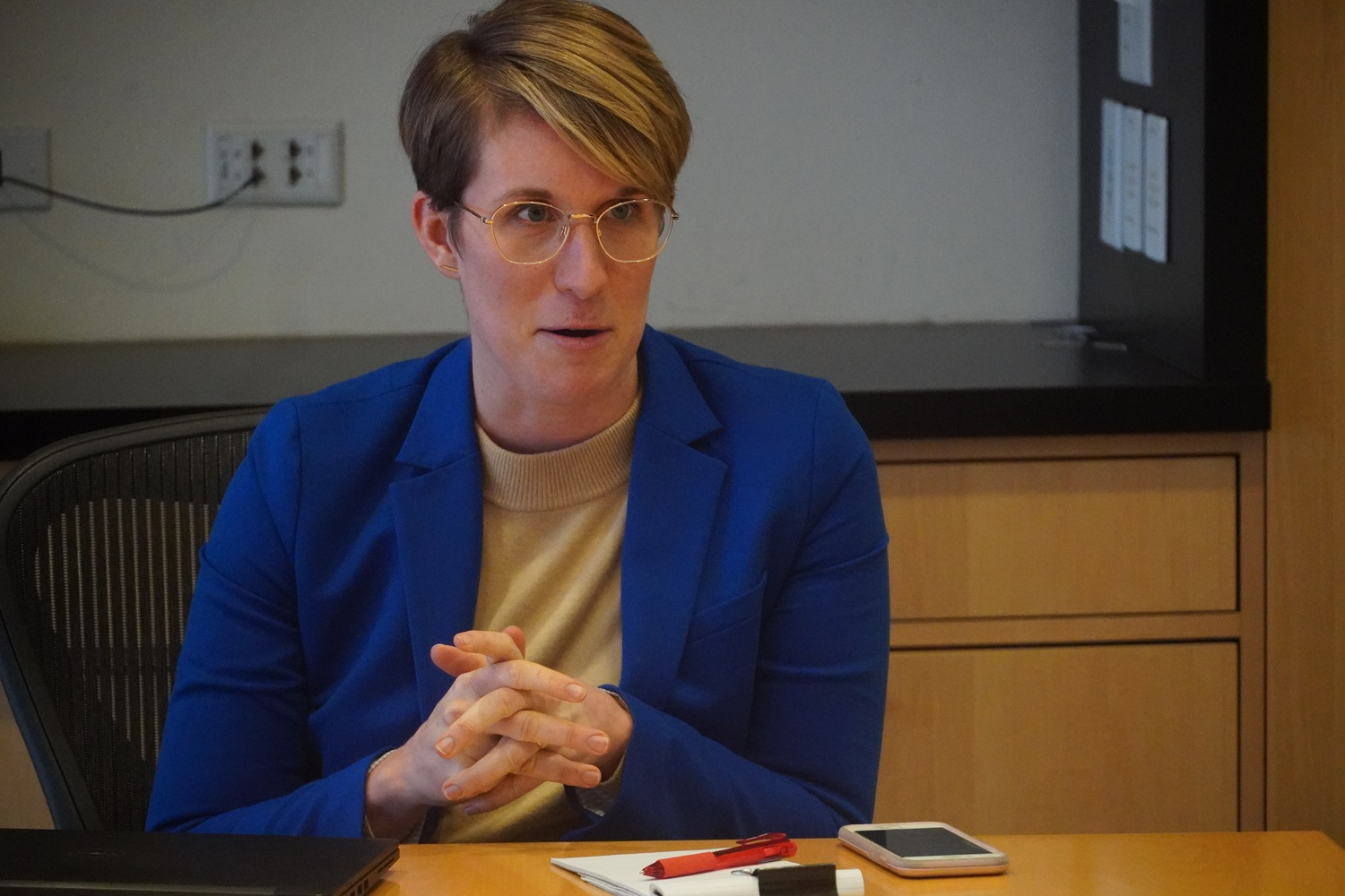 Erin Clark became the Title IX Coordinator for Harvard College in October. Previously, she held positions at Chicago Public Schools and Northwestern University.