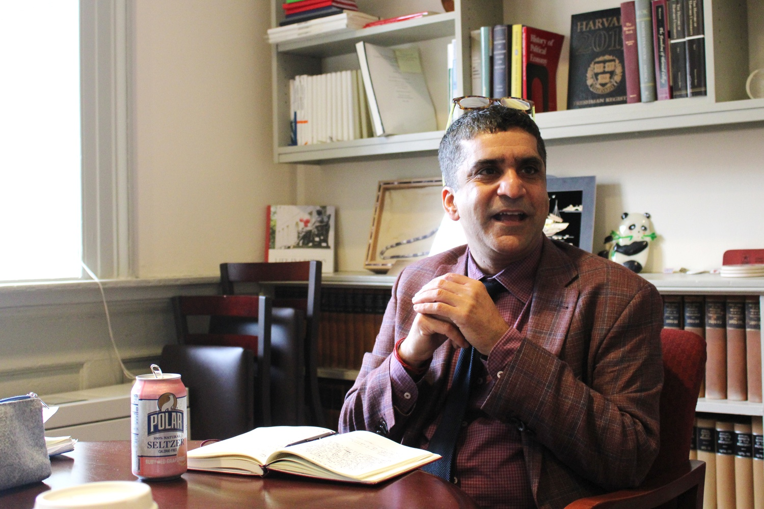 Dean of the College Rakesh Khurana discussed the possibility of an Ethnic Studies concentration in an interview Tuesday.