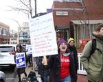 HGSU-UAW Marches on Church St.
