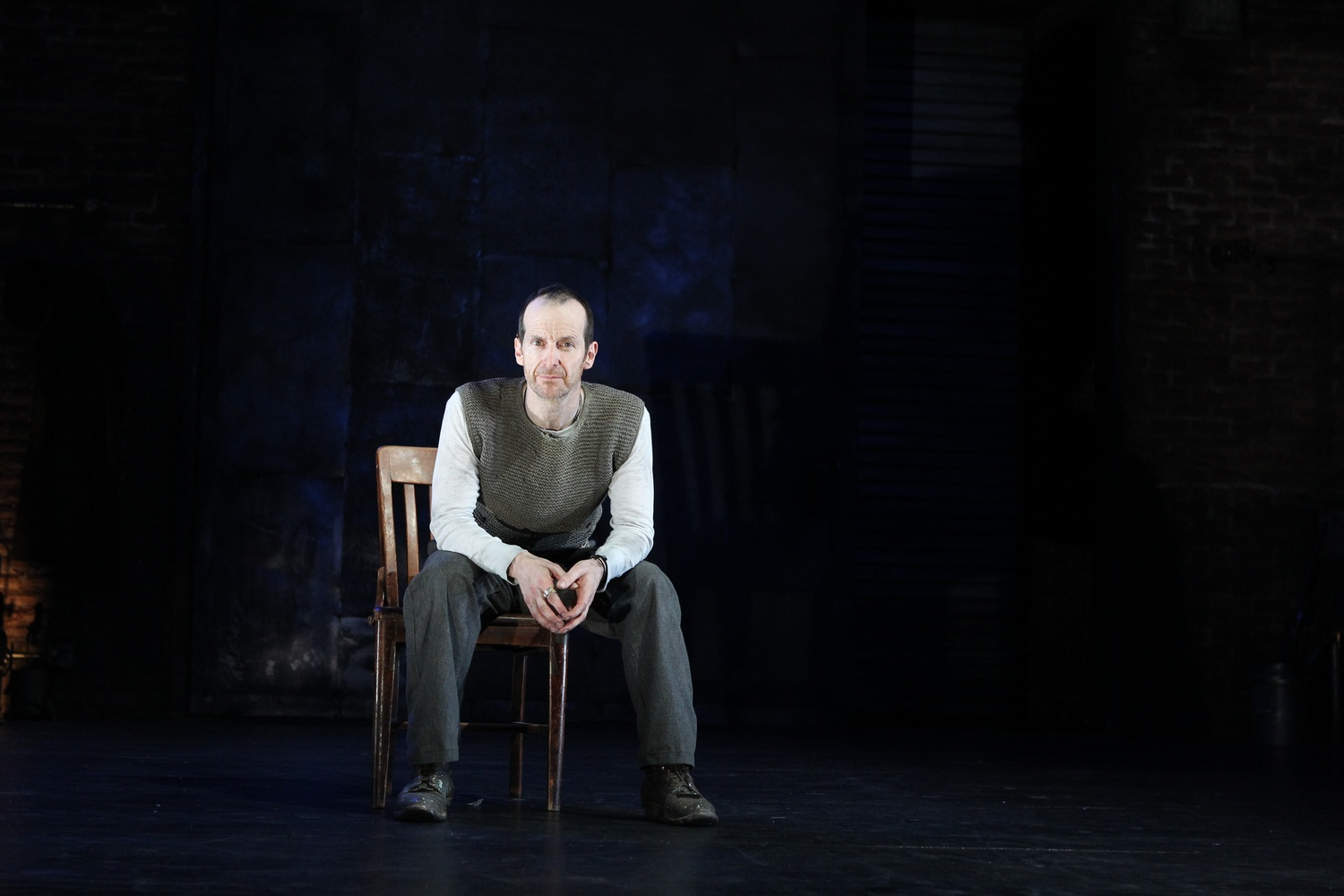 Denis O'Hare in An Iliad