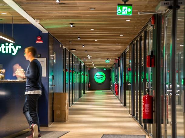 Spotify Offices Still