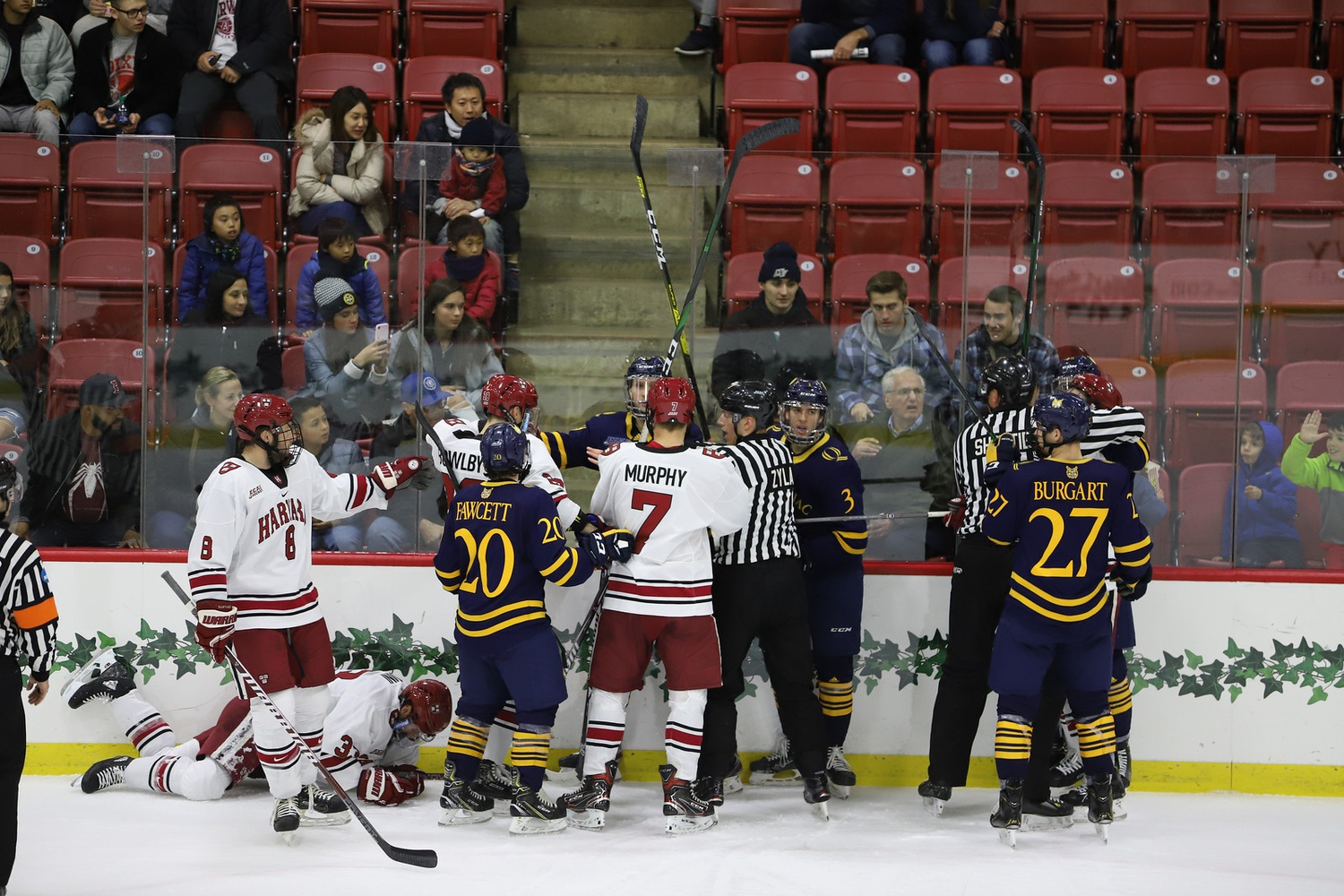 The Crimson struggled to impose a full 60-minute game on its opponents this weekend, coming up with just one point out of a possible four.