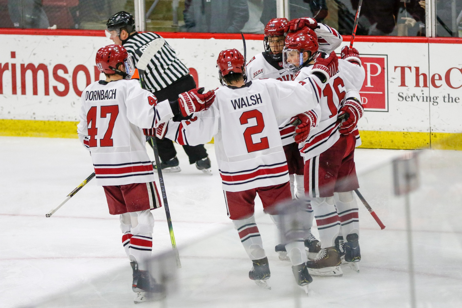 The Crimson's top powerplay unit, sitting eighth in the nation at 26.0 percent effective, can make a team pay.
