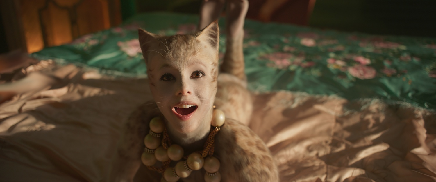 "Francesca Hayward stars as Victoria in ""Cats"" (2019), directed by Tom Hooper."