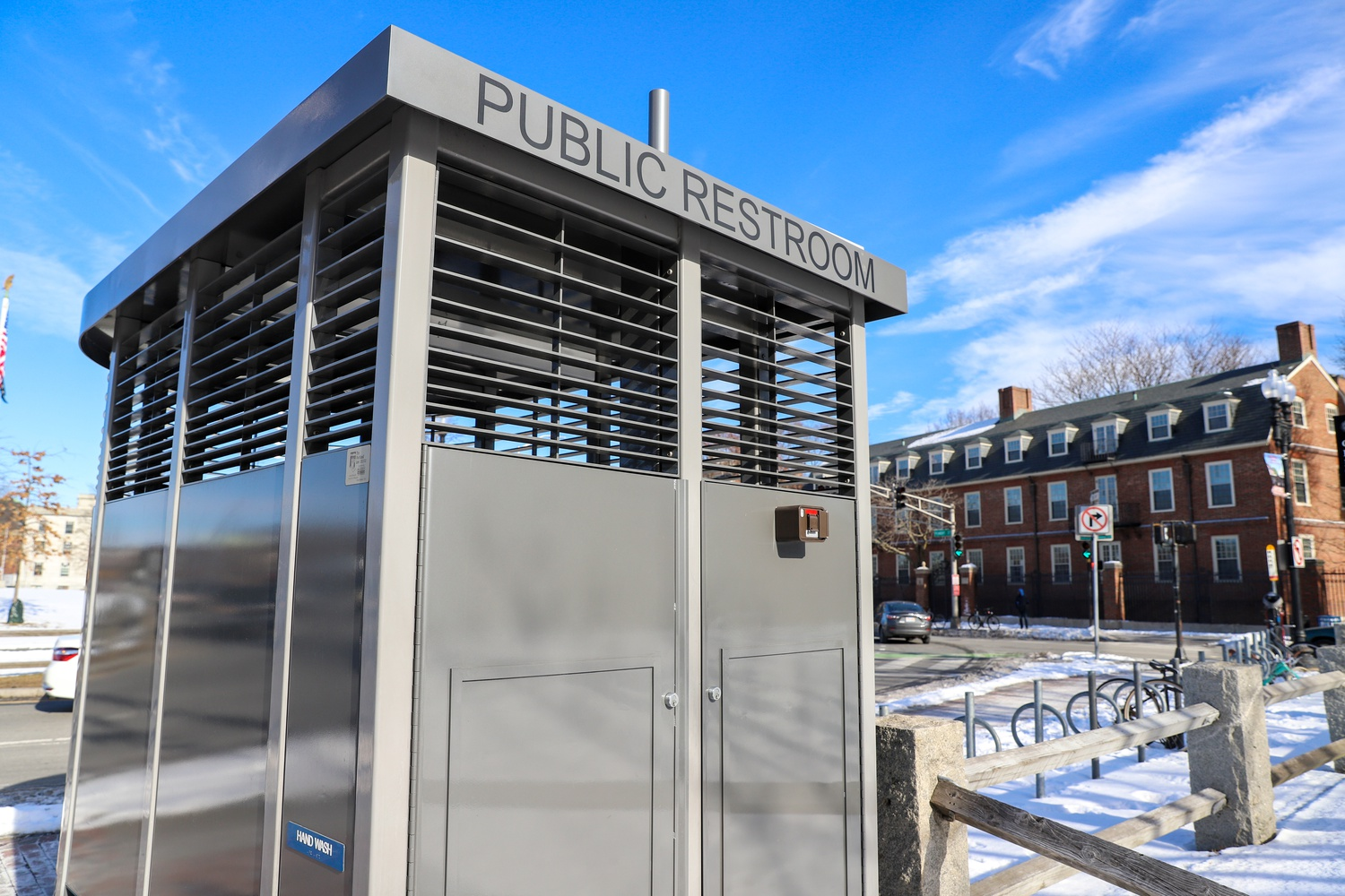 The Harvard Square public toilet was the first of its kind in Cambridge, free to the public and accessible 24 hours a day.