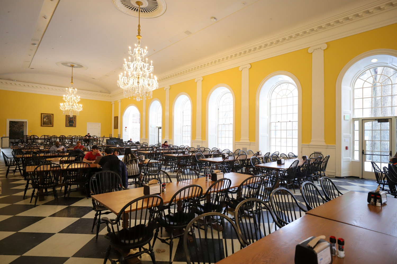 With house renovations completed, the production of the Lowell House Opera, hosted in Lowell Dining Hall, will begin again.