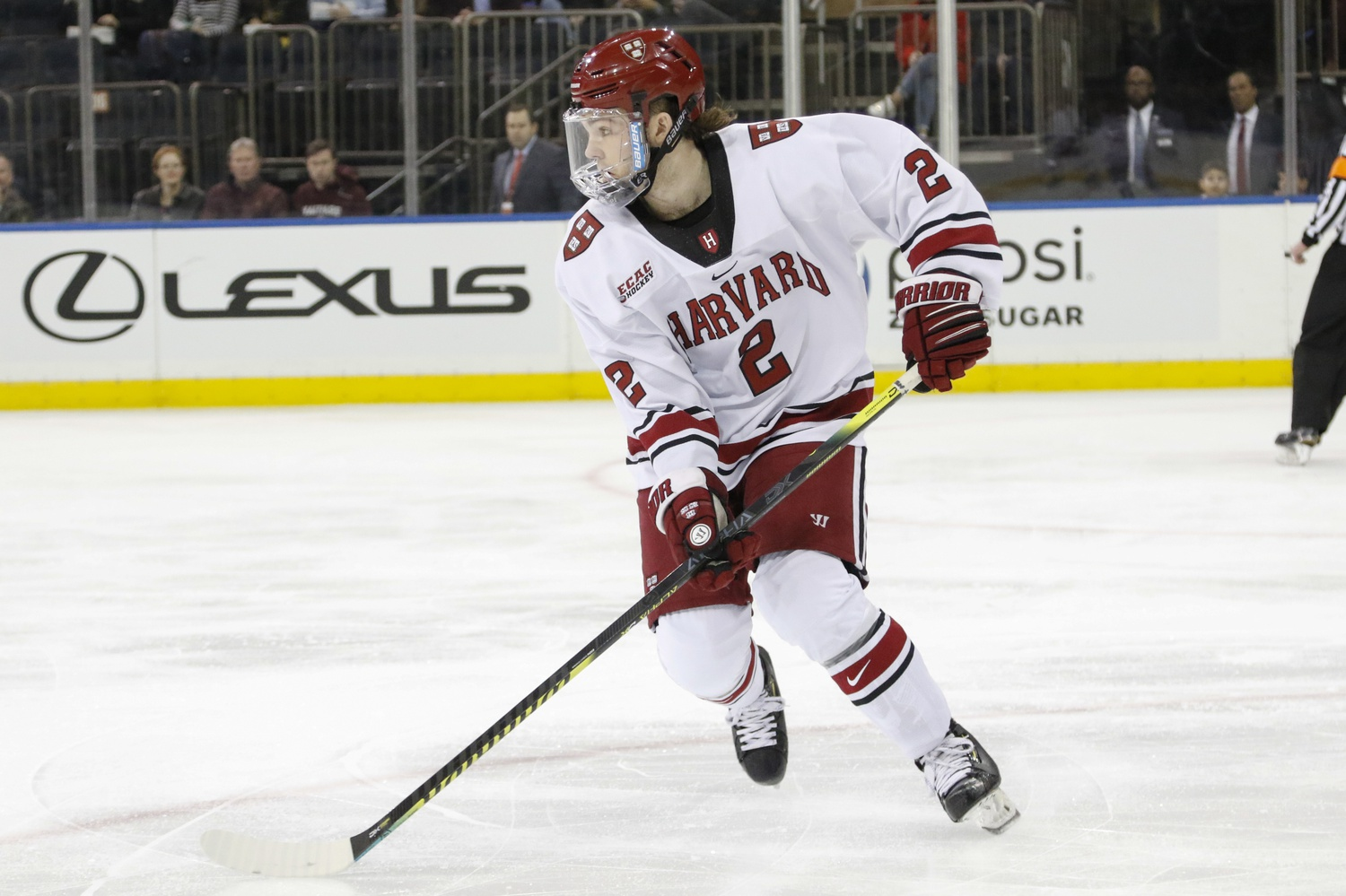 The Crimson's powerplay is converting at a rate of 29.4 percent, good for best in the country.