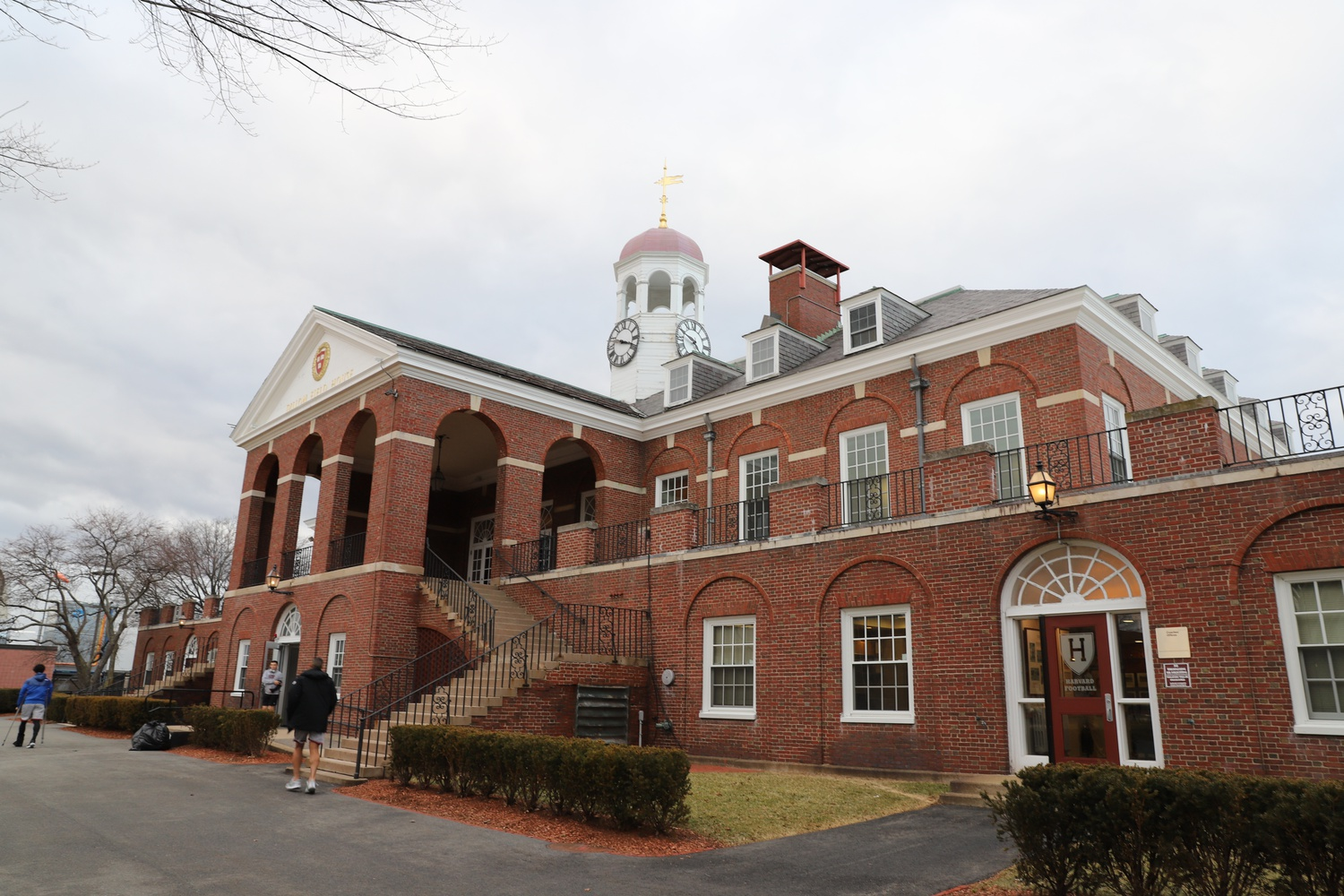 The Dillon Field House is home to the Harvard Varsity Equipment Room, Sports Medicine Facility, and a variety of locker rooms for varsity sports.
